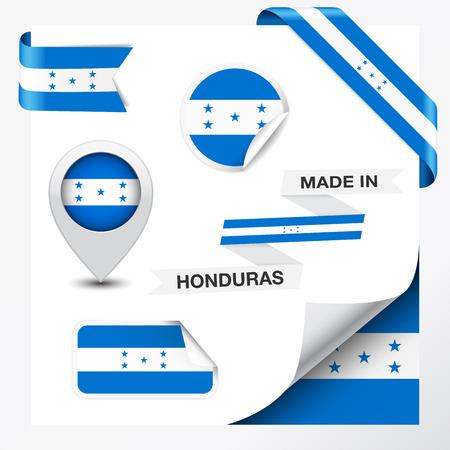 bandera honduras: Hecho en Honduras colección de la cinta