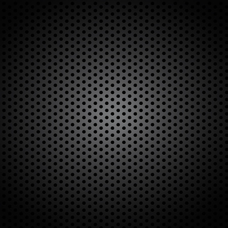 aluminum texture: Abstract industrial metal perforated dark background with metallic grid effect texture   Illustration