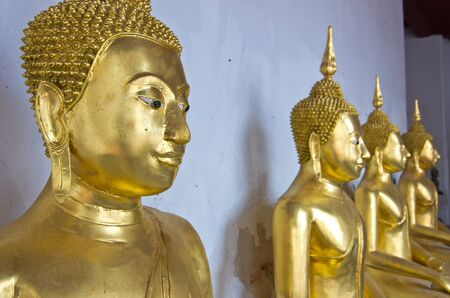Buddha Statues the old church in Phetchaburi Province,Thailand,Public Domain  photo