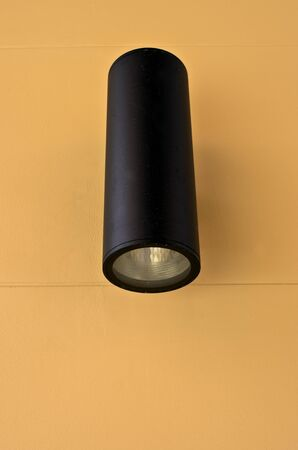 Modern outdoor wall lamp  photo