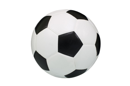The soccer ball on a white background  photo