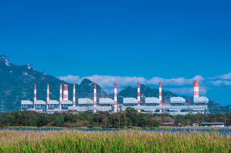 Mae Moh coal power plant in Lampang, Thailand.