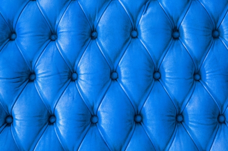 Luxury classic leather texture with blue color photo