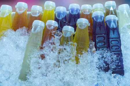 thirst quenching: Thirst quenching drink made of herbs. Packing in plastic packaging.