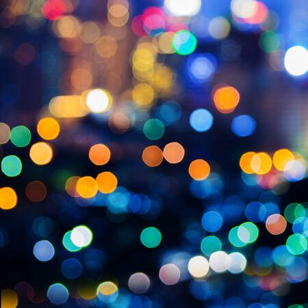 Światła: Niewyraźne abstrakcyjne światła tła, piękne świąteczne.