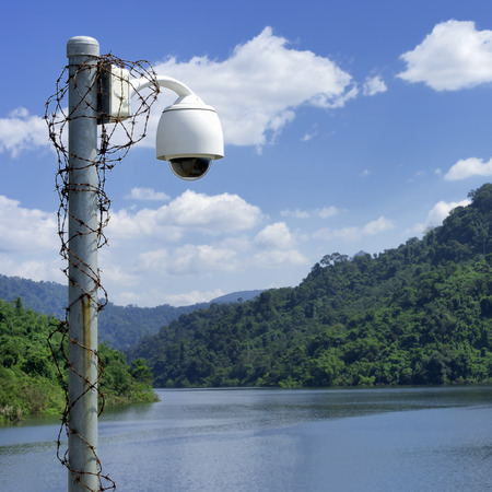 abnormalities: CCTV to detect abnormalities on the crest of a bright sky.