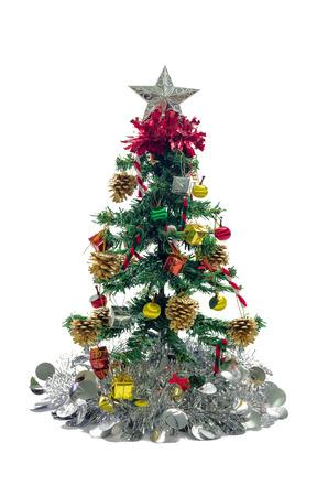 christmas tree decorations with gift box pine cones bells umbrella ball and - Umbrella Christmas Tree