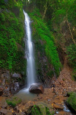 Waterfalls in deep forest. Nakhon Nayok, Thailand