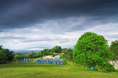 doi: Landscape of Doi Samer Dao - Si Nan National Park, Na Noi, Nan.
