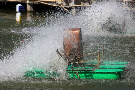 water turbine: Water turbine is working by purify the water in the river