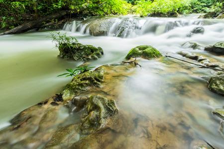 Waterfall in Kanchanaburi photo