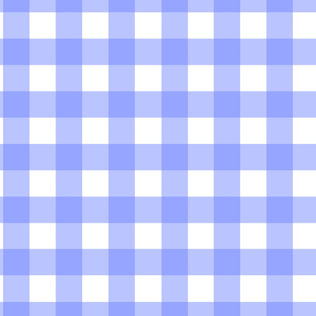 blue checkered seamless pattern vector.
