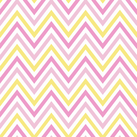 chevron pastel colorful spring pink white yellow pattern seamless vector.