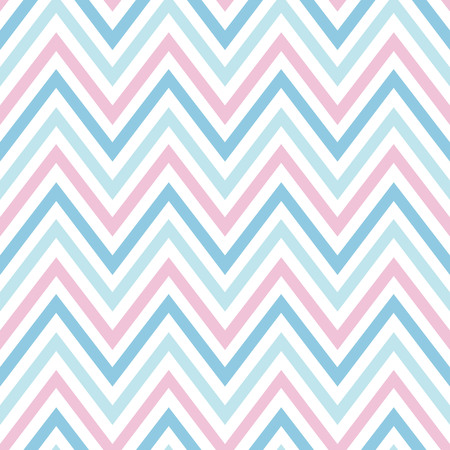 chevron pastel colorful spring pink white blue pattern seamless vector.