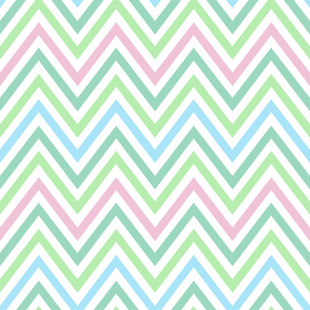 chevron pastel colorful spring pink blue green turquoise pattern seamless vector.