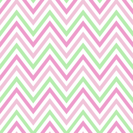 chevron pastel colorful spring pink white green pattern seamless vector.