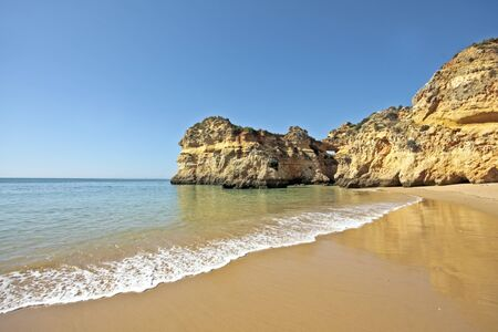 The beach near Alvor in Portugal