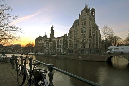 Amsterdam De Jordaan in the Netherlands
