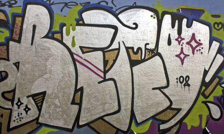 Graffiti wall in Amsterdam the Netherlands