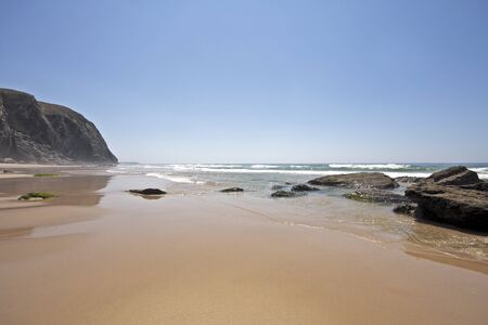 unspoiled: Unspoiled nature in Portugal  Stock Photo