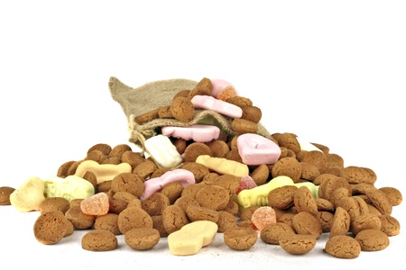 gingernuts: Bunch of gingernuts and sweets for 5 december feast in the Netherlands