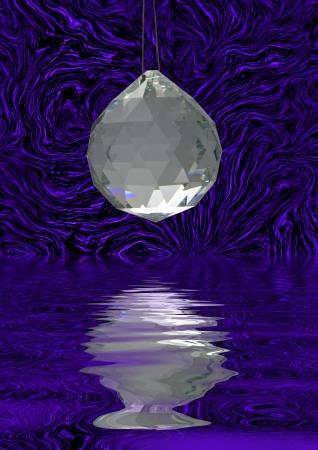 Crystal decoration Stock Photo - 15827070