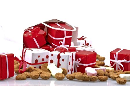 gingernuts: Bag full of christmas presents and sweets