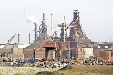 ijmuiden: Industry near IJmuiden in the Netherlands Editorial