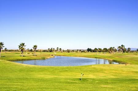 Golf course in the Algarve Portugal