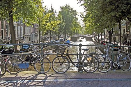 cruis: City scenic from Amsterdam in the Netherlands