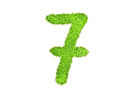 numero sette da erba