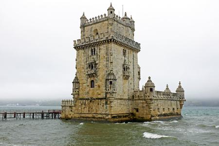belem: Torre de Belem, Lisbon Portugal