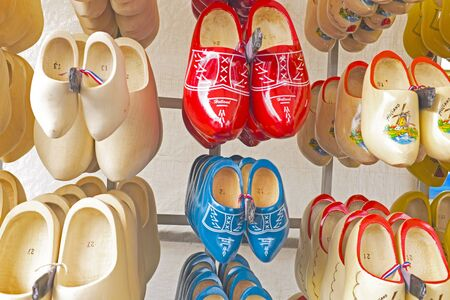 Wooden clogs in Amsterdam the Netherlands photo