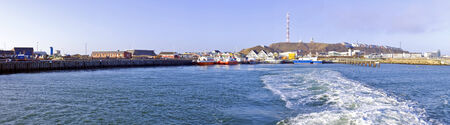 helgoland: Panorama from Helgoland Germany Stock Photo