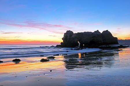 rocha: Praia da Rocha near Portimao in the Algarve Portugal Stock Photo