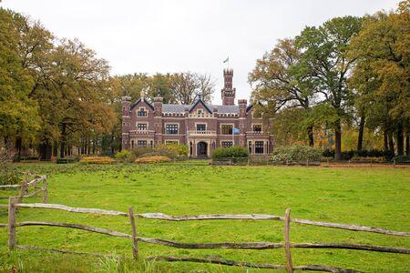 Kasteel 'De Schaffelaar in Barneveld van Nederland