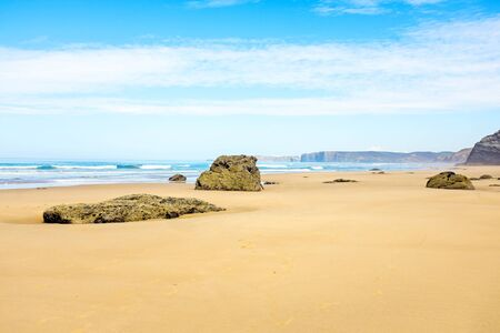 vale: Vale Figueiras beach in Portugal