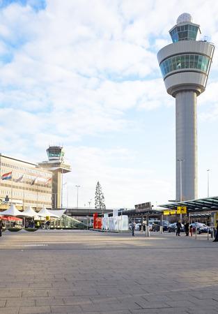schiphol: Schiphol airport in Amsterdam Netherlands