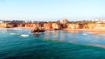 rocha: Praia da Rocha in the Algarve Portugal