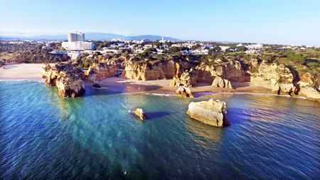 tres: Praia Tres Irmaos in Alvor Portugal