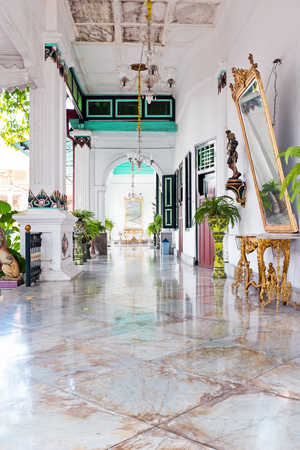 Kraton Sultan Palace, Yogyakarta - die de thuisbasis is van het laatste Sultanaat in de Speciale Regio Yogyakarta, Indonesië.