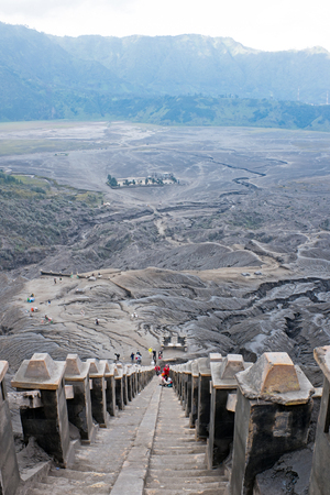 Mount Bromo volcano in Bromo Tengger Semeru National Park, East Java, Indonesia