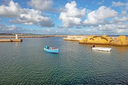 Harbor from Lagos in the Algarve Portugal Stockfoto