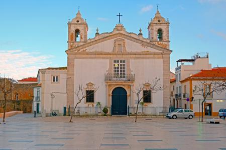 Maria church in Lagos in the Algarve Portugal