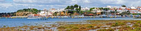 Harbor from Alvor in the Algarve Portugal
