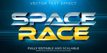 Editable text effect, premium illustrator text style