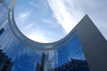 manhatan: Skyscraper in daylight, Paris Stock Photo