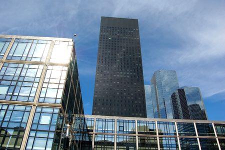 Skyscrapers in daylight, Paris photo