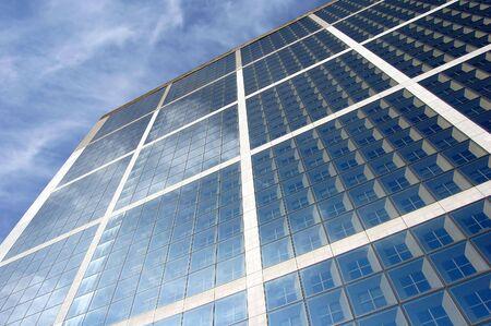 Skyscraper in daylight, Paris Stock Photo