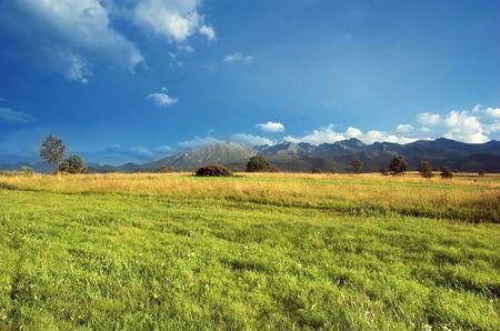 tatry: Tatra Mountains landscape